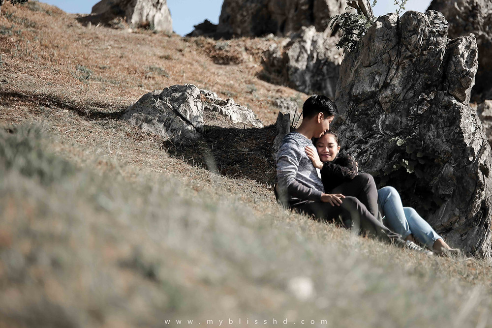 Cozy Prenup Photography