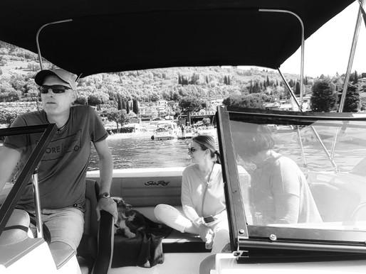 Mit den Geissens unterwegs am Gardasee  +  und von Tortellinis die glücklich machen