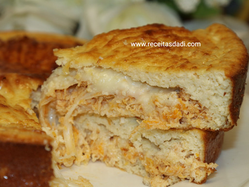 Torta salgada low carb