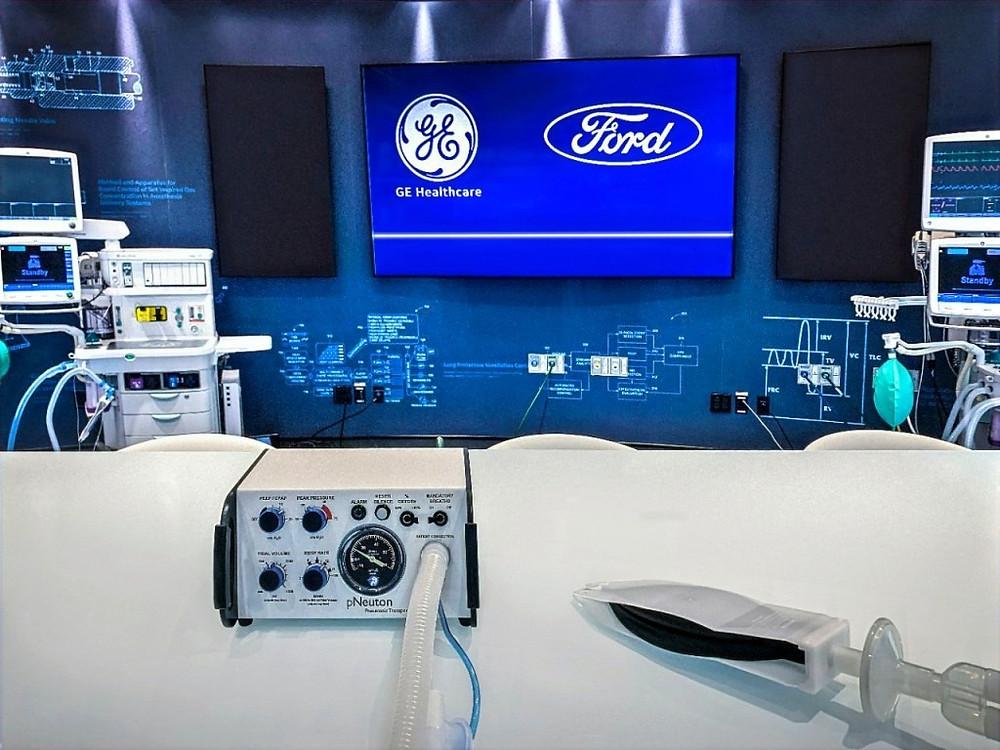 Ford, GE Healthcare to produce 50,000 ventilators