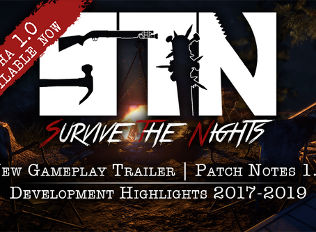 Nov 21st - Alpha v1.0 is Available Now (New Gameplay Trailer, Patch 1.0,Update Highlights 2017-2019)