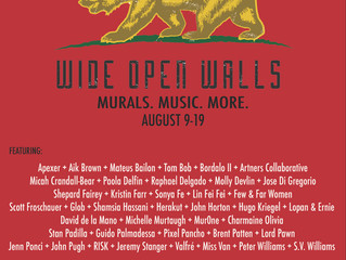 WIDE OPEN WALLS 2018