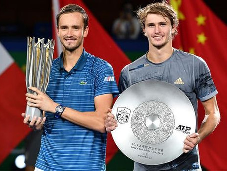 MEDVEDEV (RUS) WINS 7TH TITLE IN SHANGHAI