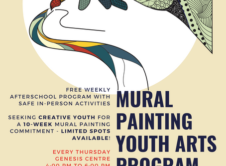 Mural Painting Youth Arts Program