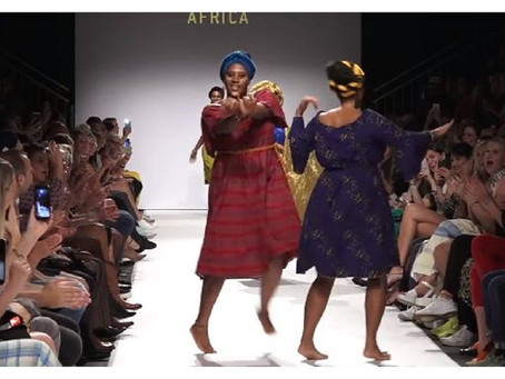 Nigerians steal the show at Vienna Fashion Week with captivating dance moves on the runway [Video]
