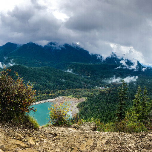 The view from Rattlesnake Ledge in Washington