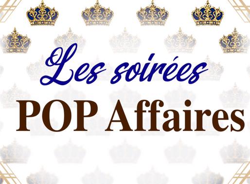 Les soirées POP Affaires - À vous la parole!