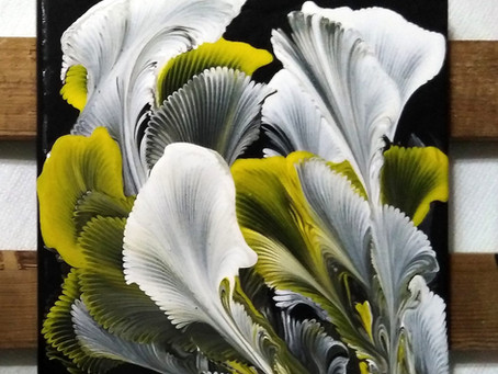 Flower explosion 20x20cm...