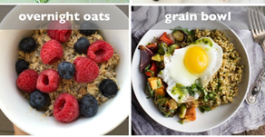 Six Quick, Efficient, & Healthy Breakfasts