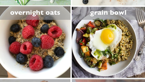 Six Quick, Efficient, & Healthy Breakfasts
