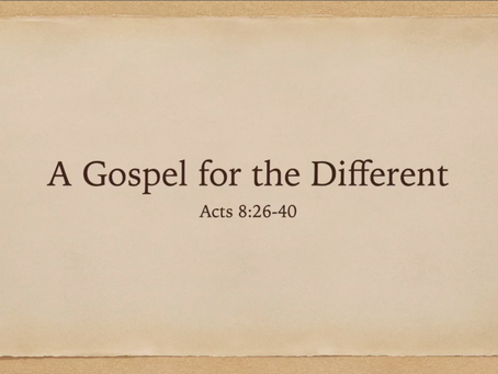 A Gospel for the Different (video) - Jim Walters
