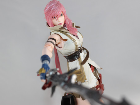 Playarts Kai: Lightning Dissidia NT/FFXIII