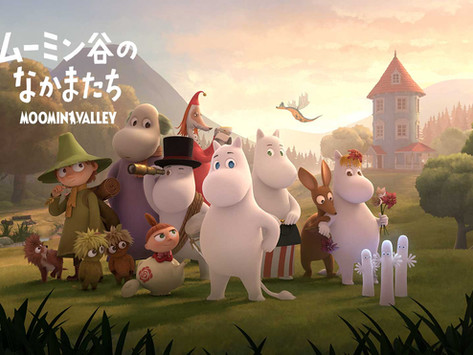 NHK announces the Japanese cast for the Moominvalley series!