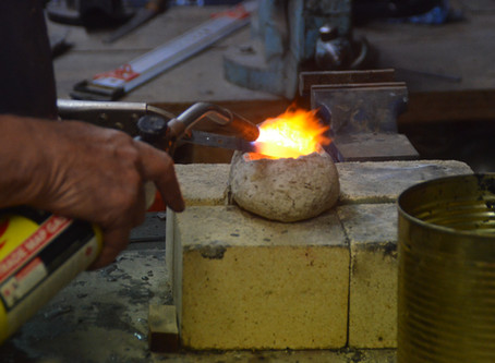 Knife making at Naenae MenzShed