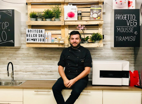 Dario Beluffi :il pasticcere vegano