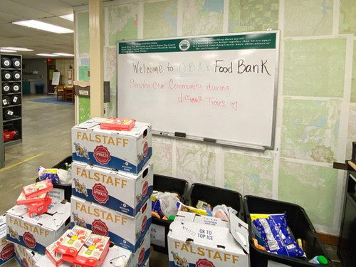 OBA creates Food Bank to support community during COVID-19 pandemic