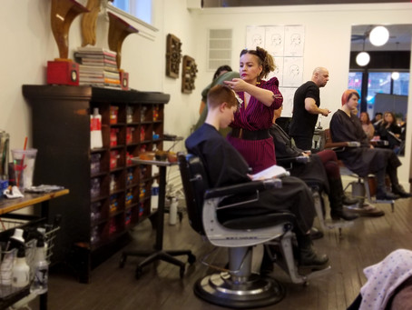 Great Cutting and Color class