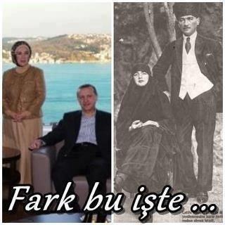 TAYYİP YİNE ATATÜRK'ÜN ADINI AĞZINA ALAMADI !!!