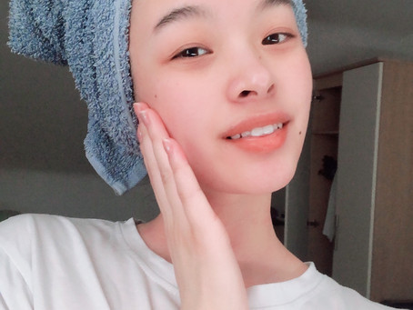 DIY - Home spa day, my skincare routine