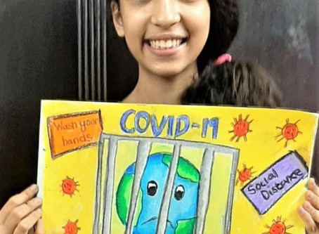 Children's Anti-COVID Art