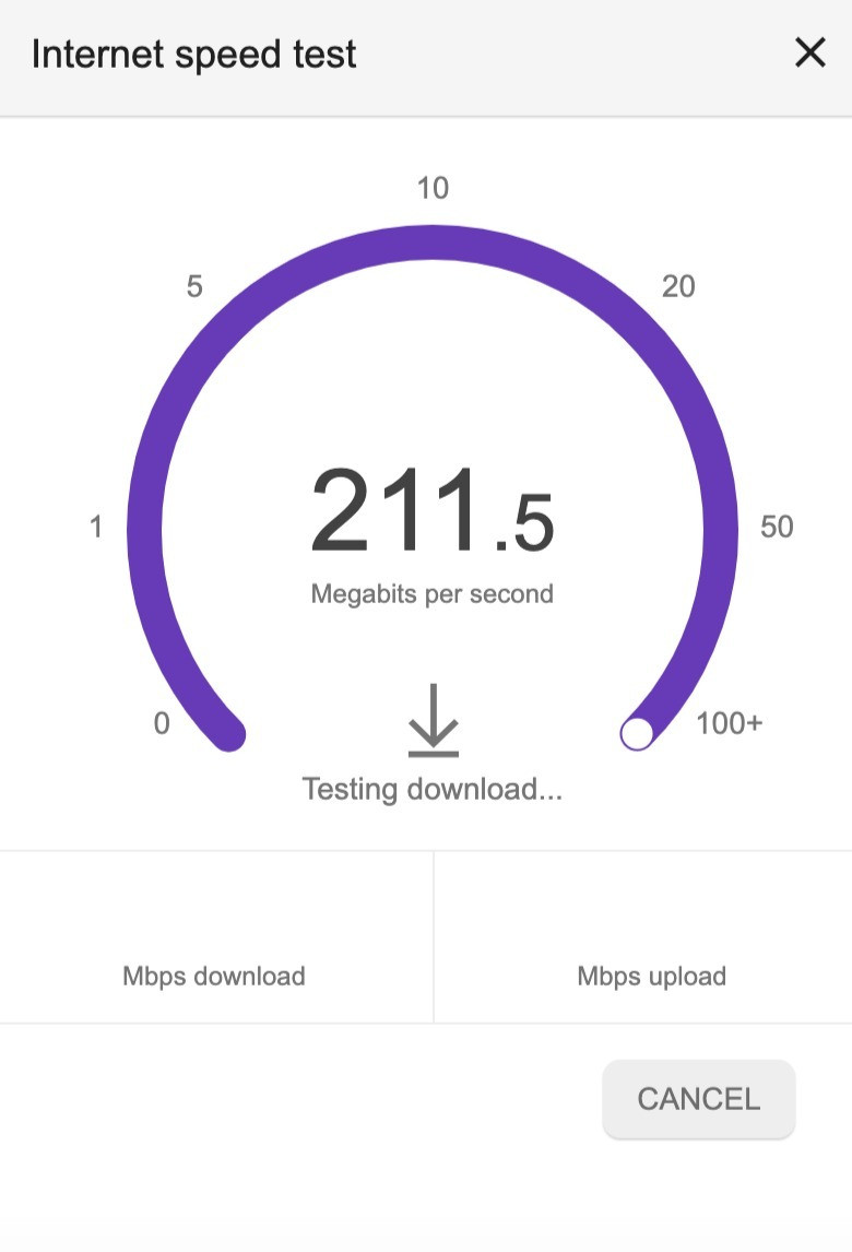 Test internet speed before online music lessons