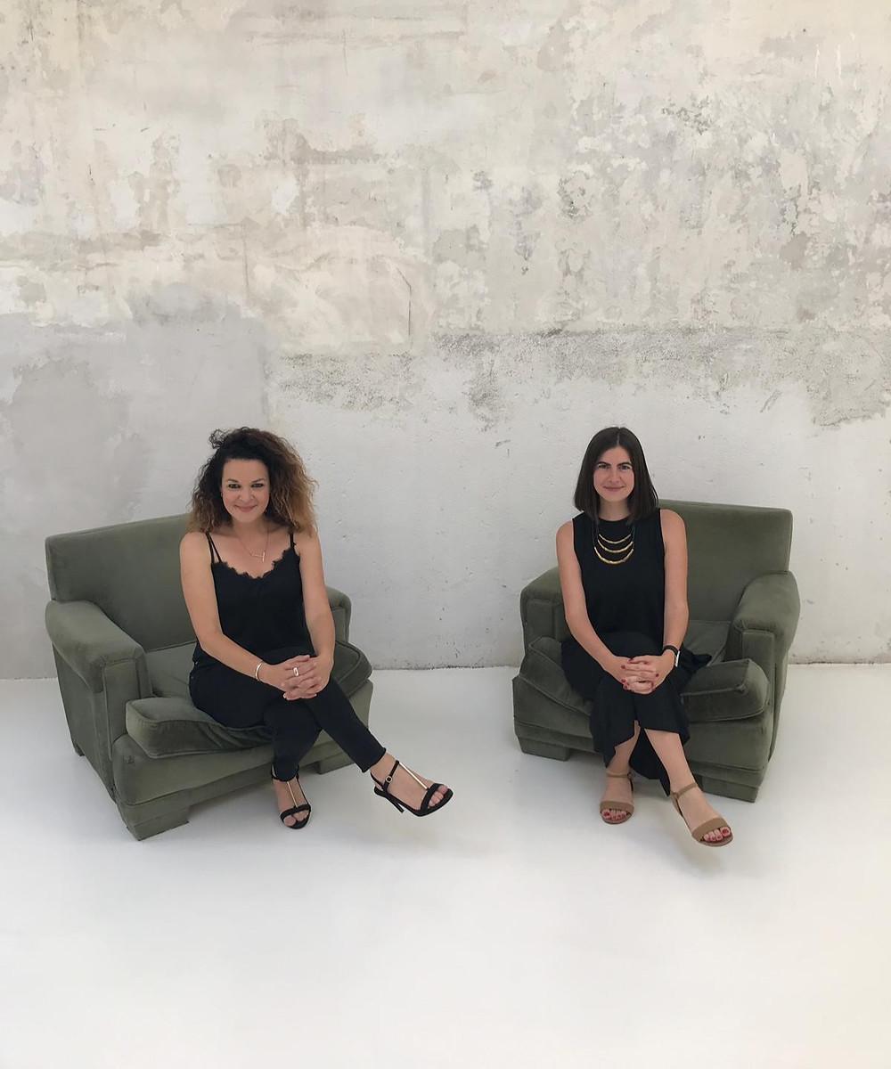 Fundadoras de Espacio Floreta, Tatiana García Bueso y Tamara Díaz Bueso.