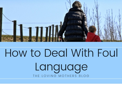 How to Deal With Foul Language
