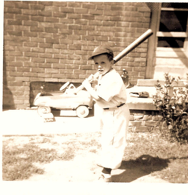 Batter Up: The Writer at Age 7