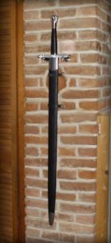 Schwert an der Wand