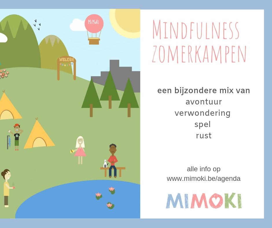 mindfulness zomerkampen