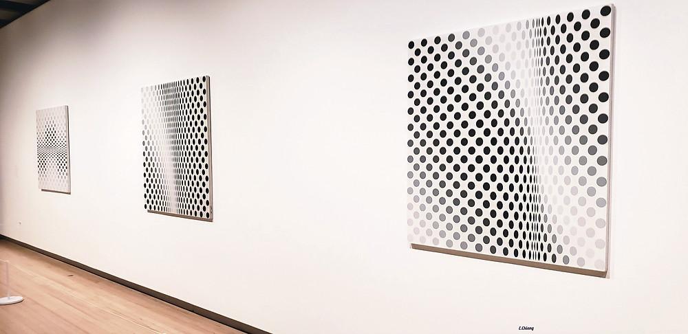 dots bridget riley exhibition