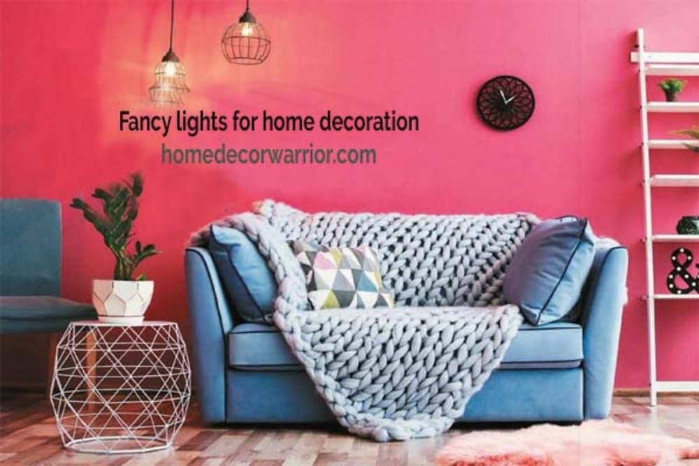 fancy lights for home decoration