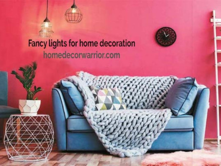 12 Awesome Fancy  Lights For Home Decoration | Tips To Light Your House The Right Way