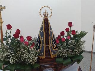 Missa em louvor a Nossa Senhora emociona a comunidade