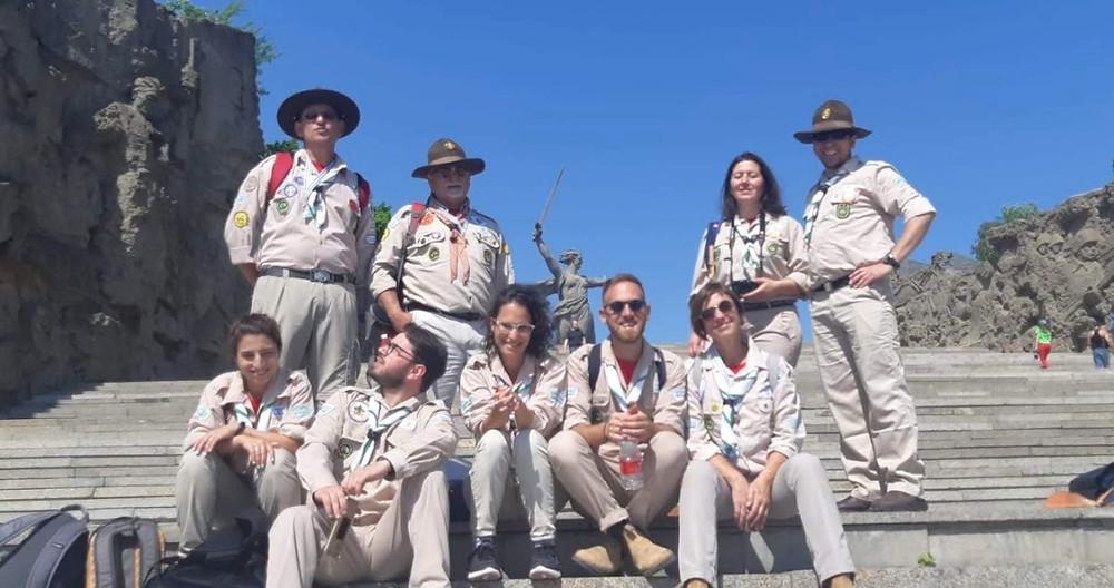 משלחת הצופים לרוסיה, מאמייב קורגן, וולגוגרד