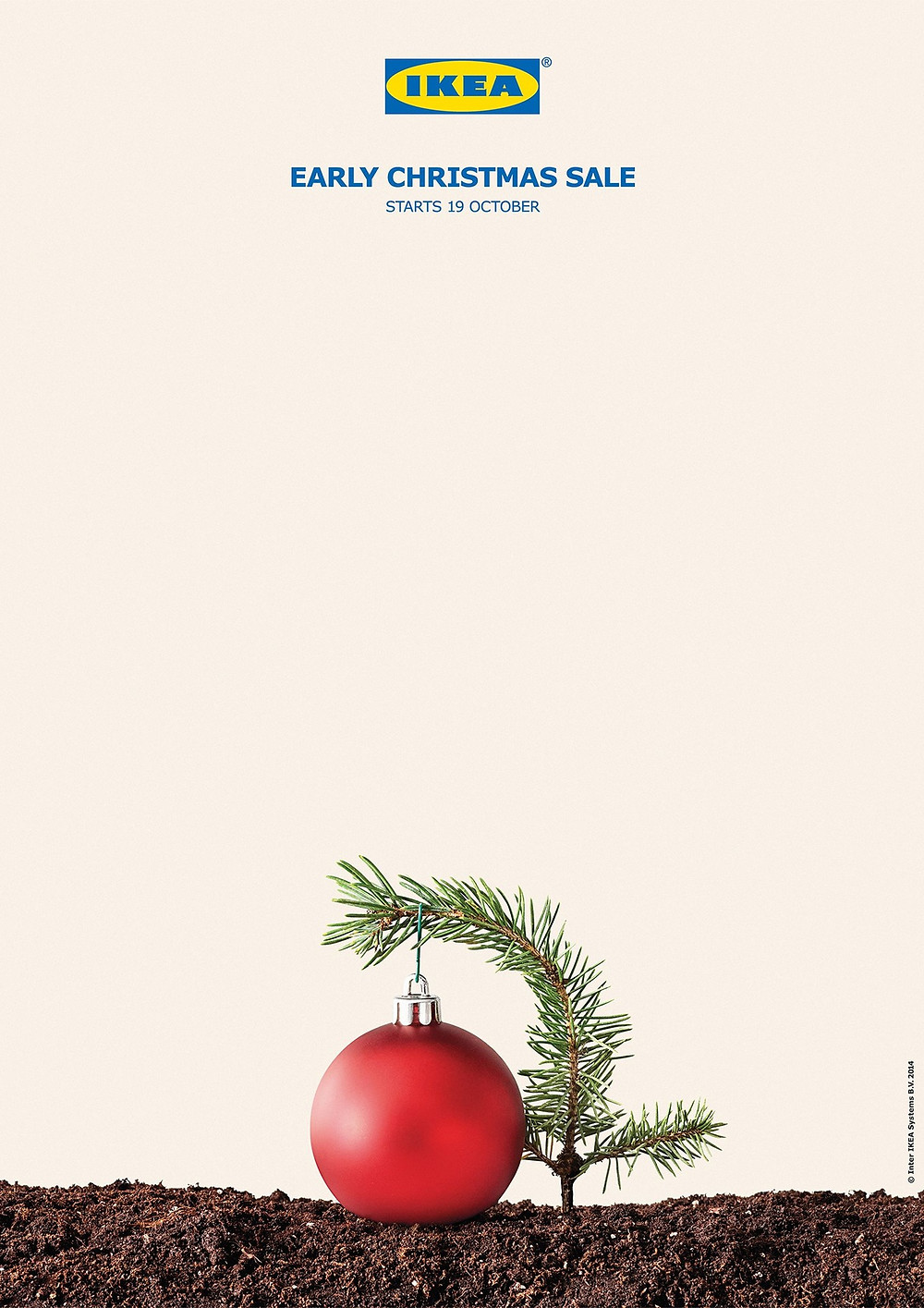 Nespresso Coffee Machine Christmas Advertising Banner