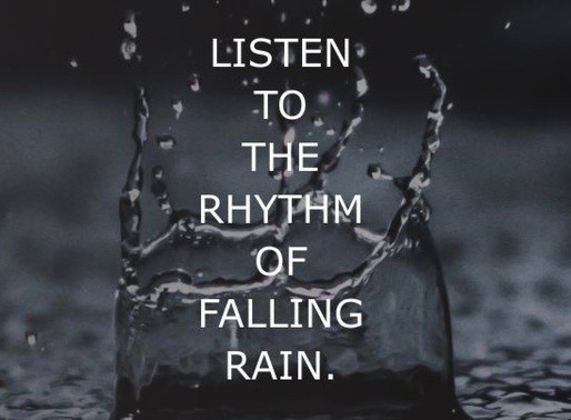 Journal: Falling Rain