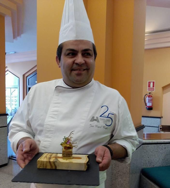 Jefe cocina del Hotel Saray