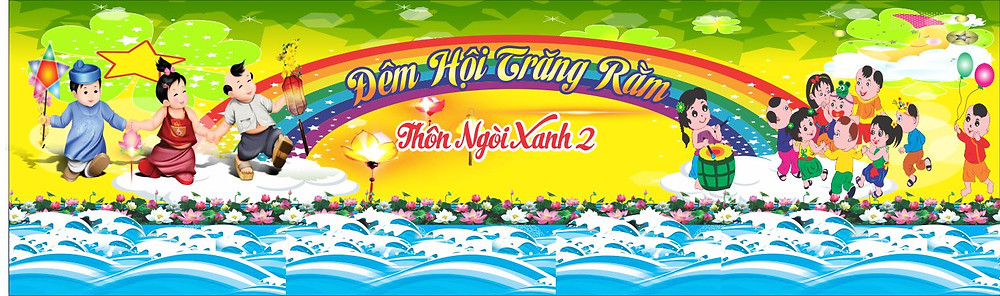 Banner Băng Rôn Trung Thu Vector Corel CDR Part28