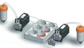 超微量の小型マイクロポンプ