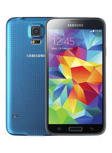 Samsung Glaxy S5 Mobile Phone Blue