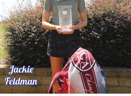 Jackie Feldman AJGA Champion !!!