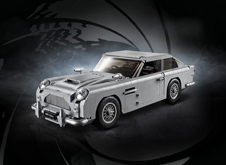 Lego Launches James Bond's Classic Aston Martin DB5