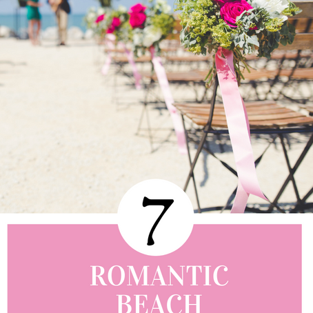 7 Romantic Beach Wedding Ideas