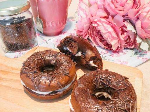 Receita de Donut de Chocolate