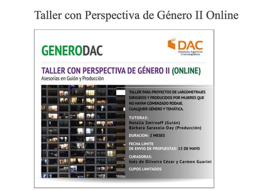 Taller con Perspectiva de Género II DAC