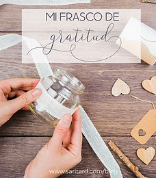 Frasco de Gratitud - DIY