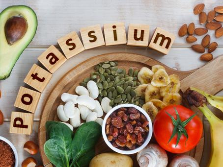 D'où vient le potassium ?
