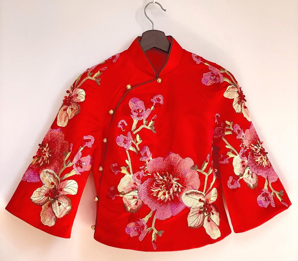 Traditional Chinese Wedding Xiu He Fu 秀禾服