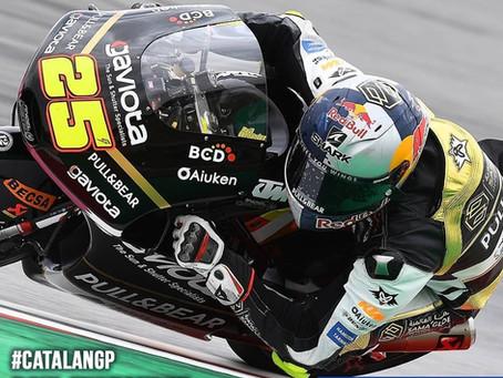 สรุปอันดับของนักแข่ง SHARK รายการ Moto3 สนามที่ 7 ที่สนาม Circuit de Barcelona-Catalunya ประเทศสเปน